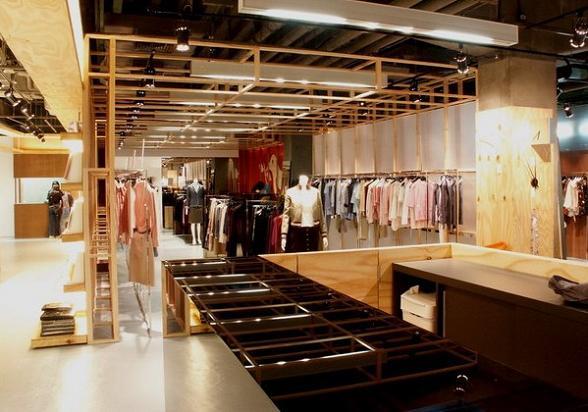 领秀展示之服装店装修设计各种知识各种技巧